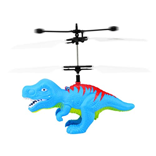 Price comparison product image Rucan Flying Helicopter Dinosaurs Dragon Toys Hand Controlled Dinosaurs Helicopter (A)