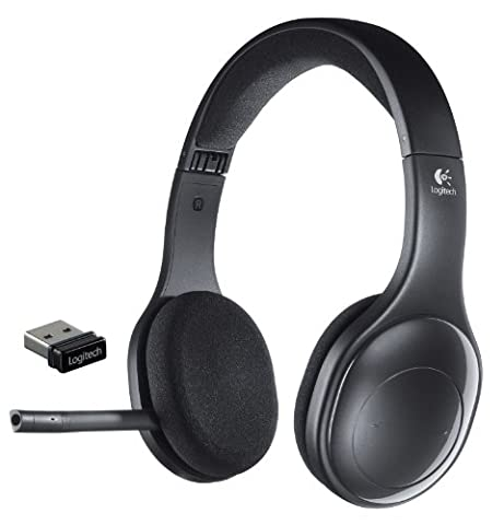 Logitech H800 Bluetooth Wireless Headset with Mic for PC, Tablets and Smartphones - Bluetooth Headset Compatible