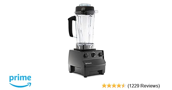 Vitamix 5200 Blender Professional Grade Self Cleaning 64 Oz Container Black 001372