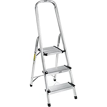 Polder 3-Step Ultralight Ladder, Aluminum
