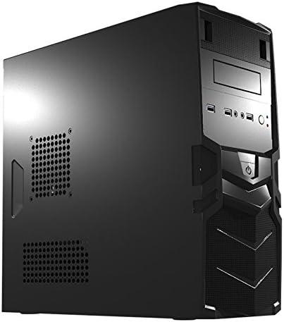 Mars Gaming MC016, caja PC Micro ATX, ventilador 8cm incluido, VGA ...
