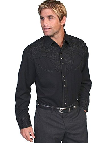 scully-mens-p-634-embroidered-floral-western-shirt-jet-large