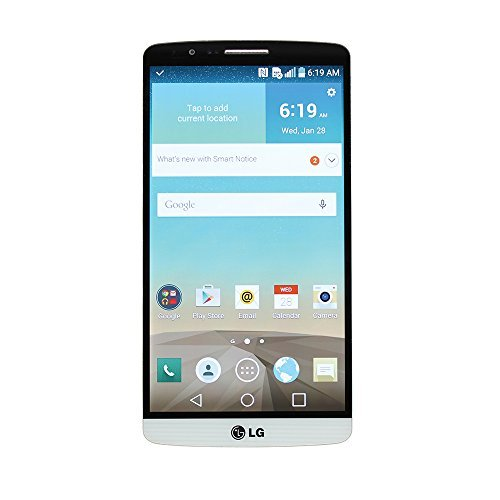 LG G3 D851 GSM Unlocked Smartphone T-Mobile - 32GB - White (Certified Refurbished) - T Mobile Phones Lg G3