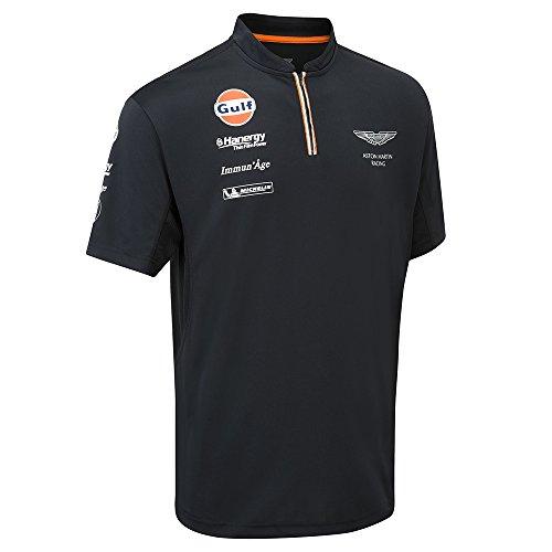 Aston Martin Racing 2015 Team Polo Shirt XL Blue (Racing Mens Polo)