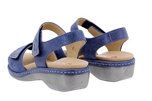 confort 1802 Extra Plantilla Sandalia piel mujer de Calzado Piesanto pCx6q75Cw