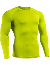 Men Women Compression Under Cool Base Layer T Shirt Long Sleeve XS ~ XXL