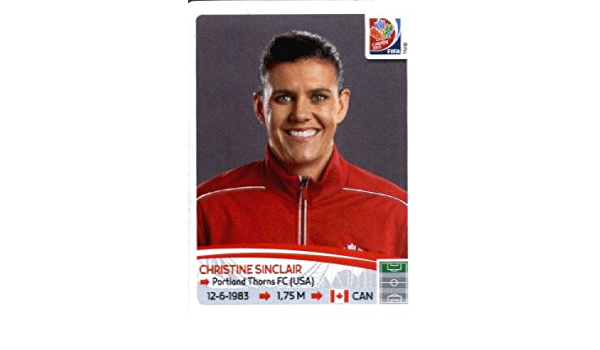 62 Christine Sinclair CAN Canada NEU Panini Sticker Frauen Fußball WM 2011 Nr