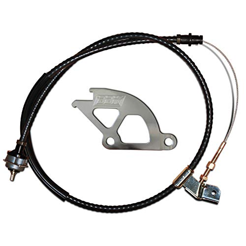 (BBK 1609 Adjustable Clutch Cable and Aluminum Double Hook Quadrant Kit (Heavy Duty) for Ford Mustang)