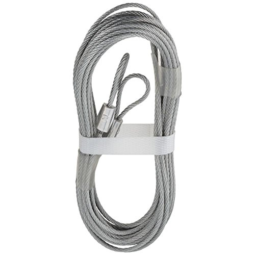 National Hardware N280-297 V7617 Extension Spring Lift Cables in Galvanized, 2 pack by National Hardware