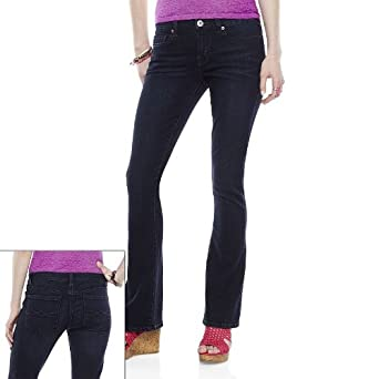 1345921a9d3 Image Unavailable. Image not available for. Color  Mudd Skinny Bootcut Jeans  - Juniors