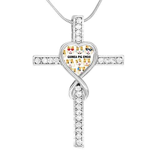 SKWI-XKSW Infinity Love God Guinea Pig Hamster Clipart Cross Pendant Necklace Chain Religious Prayer - God Clipart
