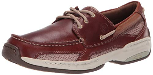 Dunham  Men's Captain Boat Shoe,Brown,10.5 6E MCN410BR