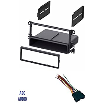 asc car stereo radio dash kit and wire harness. Black Bedroom Furniture Sets. Home Design Ideas