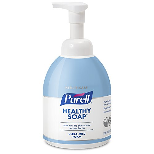 535 Ml Pump Bottle - PURELL Healthcare Healthy SOAP Ultra Mild Foam, 535 mL Counter Top Pump Bottle (Pack of 4) - 5783-04