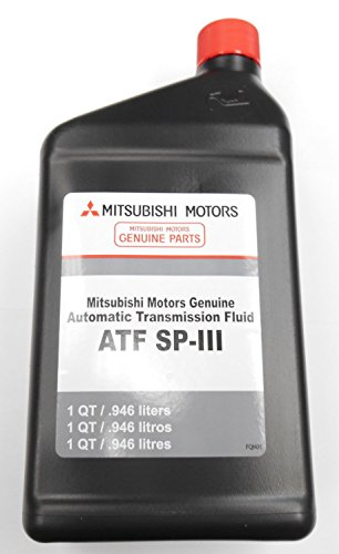 Sport Transmission Fluid (Genuine Mitsubishi Diaqueen SPIII SP3 Transmission Fluid - 5 Quarts - MZ320200 Mirage Montero Montero Sport Expo LRV 3000GT Pickup with Automatic Transmission)