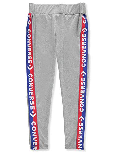 Converse Girls' Leggings - Gray, 8-10 ()