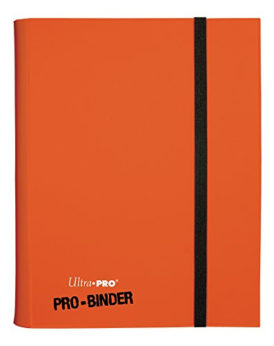(Ultra Pro 9-Pocket PRO-Binder Card Holder, Orange)