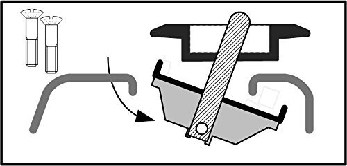 Bull Ring 4025 Flush Fit Ford 2 Pair Retractable Truck Bed Tie Downs for Ford 2015-19 F 150 /& 2017-19 Super Duty