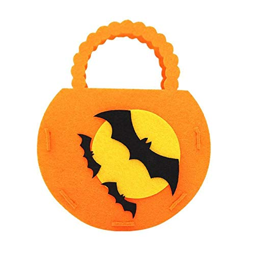 Bags & Wrapping Supplies - Colorful Halloween Candy Bag Gift Bags Pumpkin Trick Or Treat Sacks Hallowmas Party Decor - Cinch Snack String Puppet Sack Dog Flying Backpack Pouch 200 -