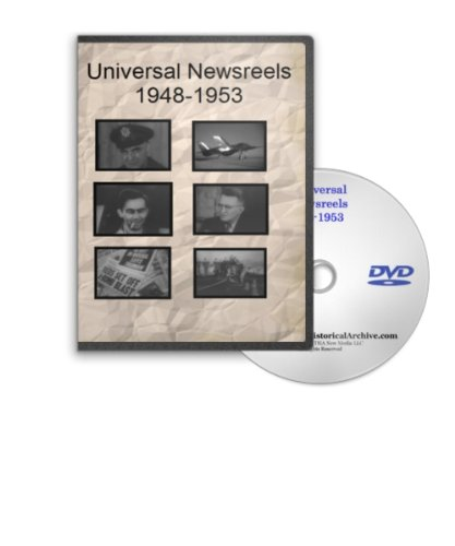 Missile Sub - News of the Day 1948-1953 - Universal Newsreels Including Cuba Carlos Prio, Fidel Castro, Guided Missile Bomb, USS Nautilis Sub Ceremony, Radar Plane, China Seated at UN, Mike and Monkeys in Space, Korea Invaded and Much More