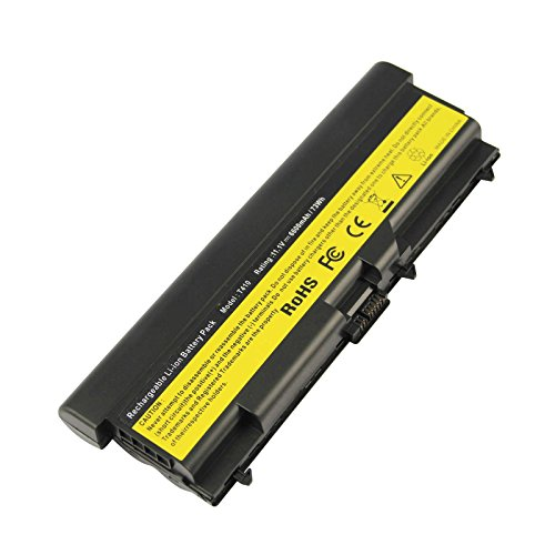 (9 Cell Extended Life Battery for Lenovo ThinkPad E40 E50 L410 L412 L420 L421 L510 L512 L520 T410 T420 T510 T520 W510 W520 E420 E425 E520 E525, 14