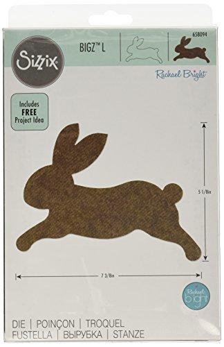 (Sizzix Bigz Die, Bunny by Rachael Bright)