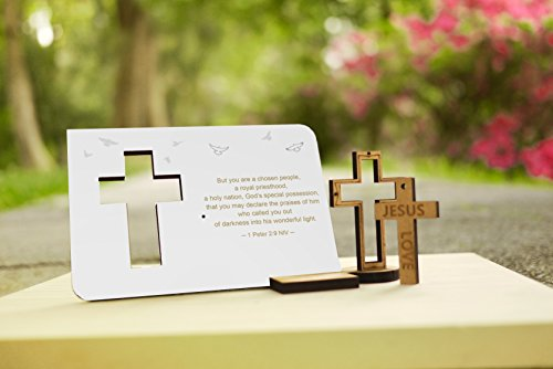 IRecki 30 Second Voice Recording Photo Frame Card Cross No Amazoncouk Office Products