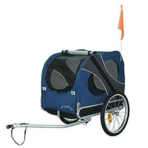 Doggyhut Remolque Grande para Perros Remolque de Bicicletas 10117-02
