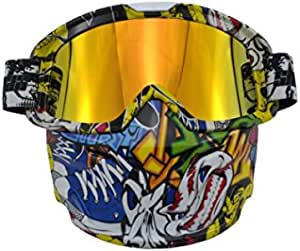 Protection Mask With Goggles, Mz11-5-15
