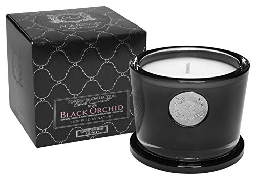 - Aquiesse Black Orchid Small Candle in Gift Box