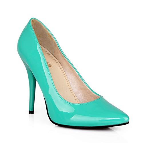 HOESCZS große größe 30-48 high Heels Spitze zehe zehe zehe Elegante Frauen Schuhe 7 Farben dünne hochhackige Party büro pumpen Schuh Stiletto, B07P9P1D2C Sport- & Outdoorschuhe Sehr gute Klassifizierung 60f526