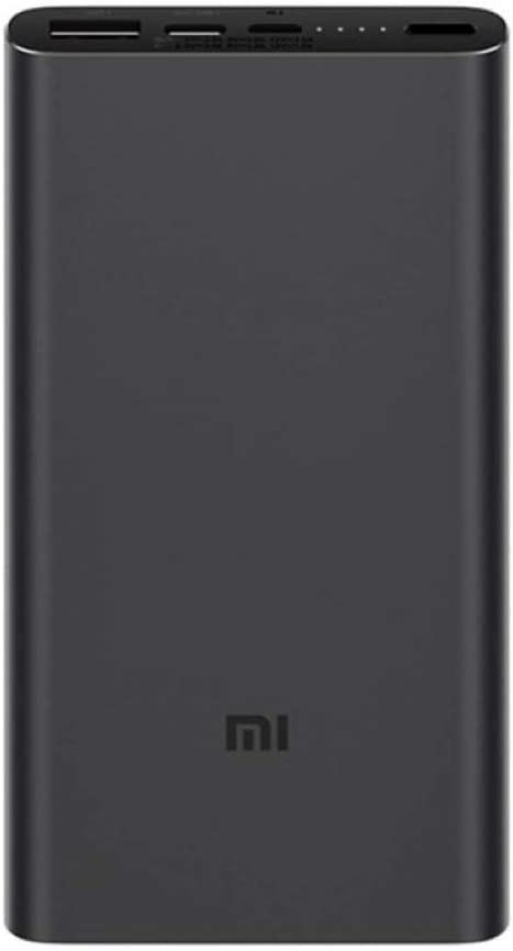 Powerbank Xiaomi MI 18W Fast Charge Power Bank 3 10000MAH Black