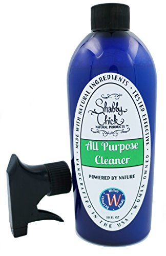 Shabby Chick Natural All Purpose Cleaner, Multi-Surface Spray Made from Tea Tree and Lemongrass Essential Oils, Non-Toxic for Kids, Babies, Pets, 16-oz by Shabby Chick's Smart Clean