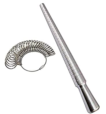 JEWELLERS RING STICK SIZE SIZER JEWELLERY MAKING A Z+6