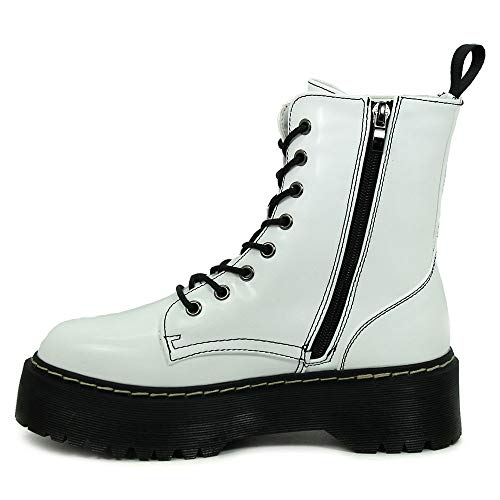 Coolway Blanc Boots Femme Rangers 700 Abby rxOqBSwrn