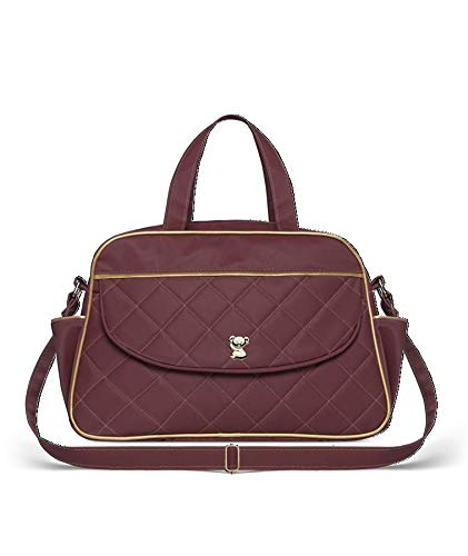 Bolsa Maternidade Selena M, Classic for Baby Bags, Bordô