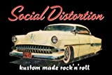 Licenses Products The Social Distortion Car Magnet