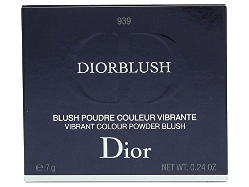 Christian Dior Blush Vibrant Color Powder Blush Rose Libertine for Women, 0.2 Ounce (Pack of 3)