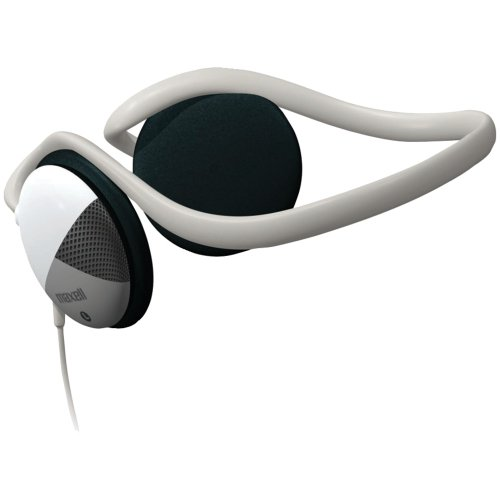 190316 STEREO NECKBAND HEADPHONES WITH SWIVEL EARCUPS;