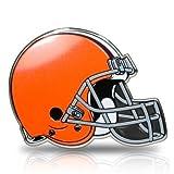 NFL Cleveland Browns Aluminum Color Auto Emblem, Official Licensed