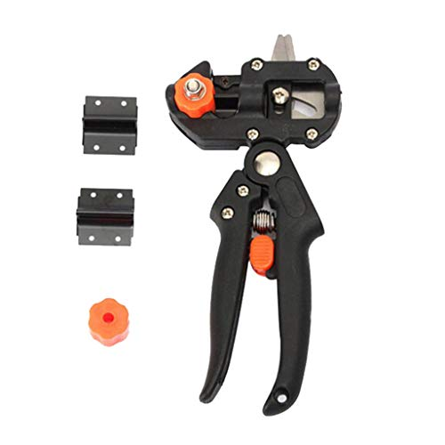 BBtime❤Grafting Shear Picking Up Scissors Fruit Tree Grafting Machine Garden Environmental Protection Tools Kit Plant Branch Twig Vine Fruit Tree Pruning and Grafting Cutting - 2019 New