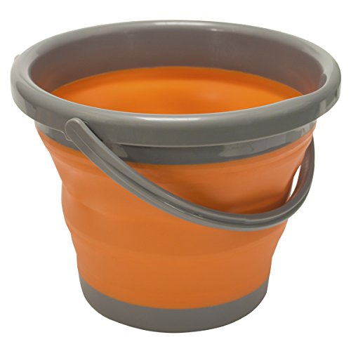 UST 20-02078-08 FlexWare Bucket, 1.3 Gallon, Orange