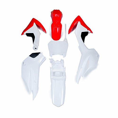 ABS Plastic Fender Fairing Body Work Kit Set For For Honda CRF110 2013-2015 Dirt Pit Bike