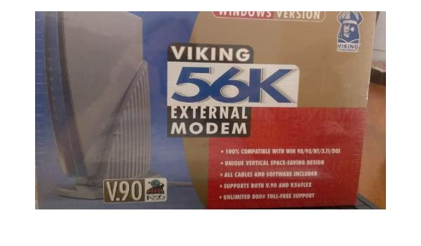 VIKING 56K EXTERNAL MODEM 64 BIT