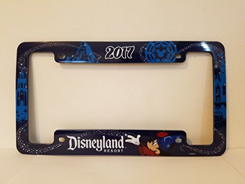 - Disneyland Resort 2017 License Plate Cover Frame
