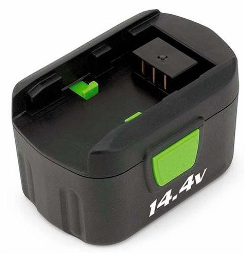 Kawasaki 840156 Green 14.4v Replacement Battery (Charger Kawasaki Cordless)