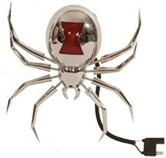 Hitch Critter Black Widow Receiver Cover and Brake Light