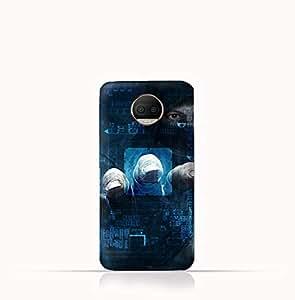 Motorola Moto G5S Plus TPU Silicone Case With Dangerous Hacker Design