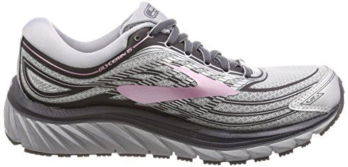 Glycerin Neutral Rose Max Running 15 Silver Shoe Womens Cushion Grey Brooks P5qwFF