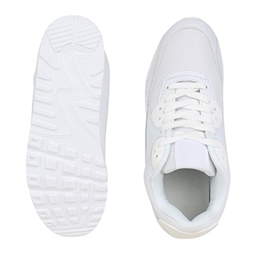 Autol SCARPE Low Weiss Top VITA Donna wxPqfXO